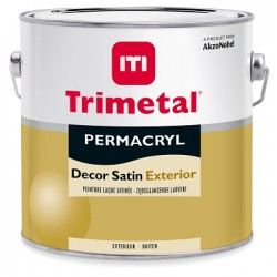 Trimetal Permacryl Decor Exterior Satin